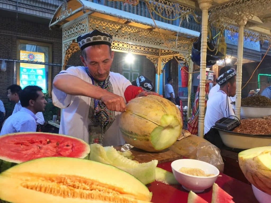 Tembikai susu Xinjiang