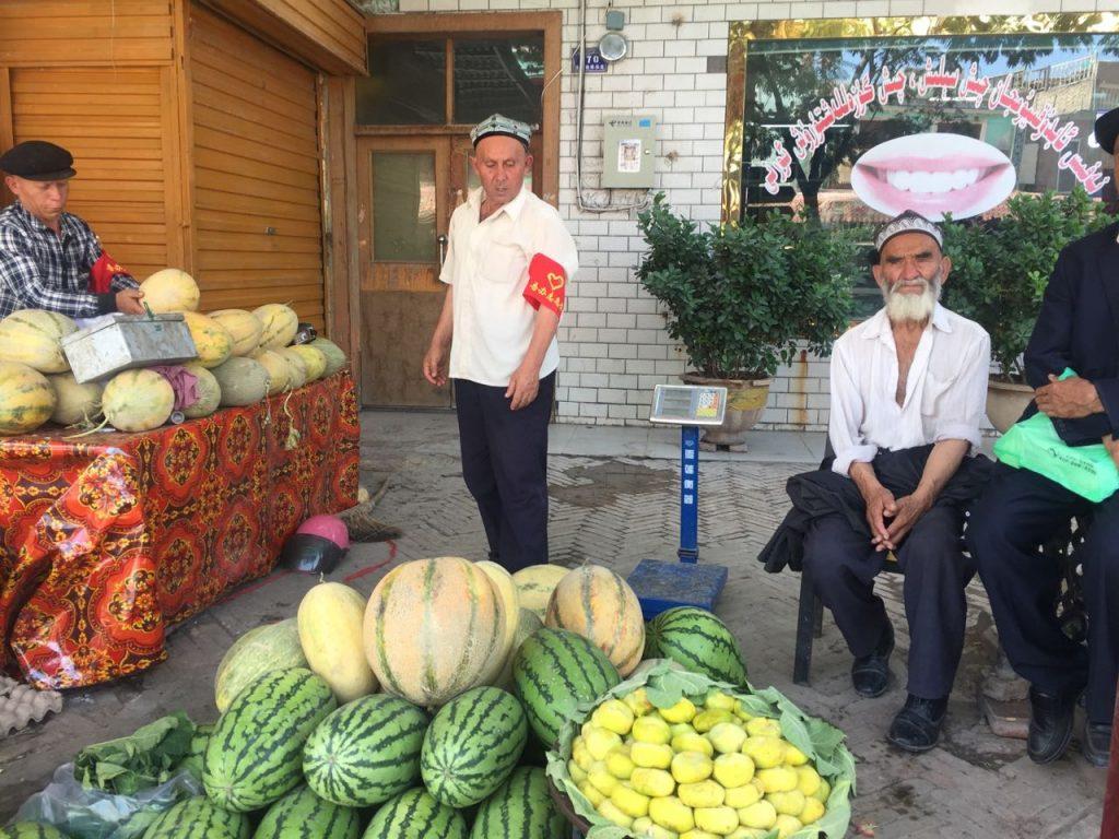 muslim di Xinjiang