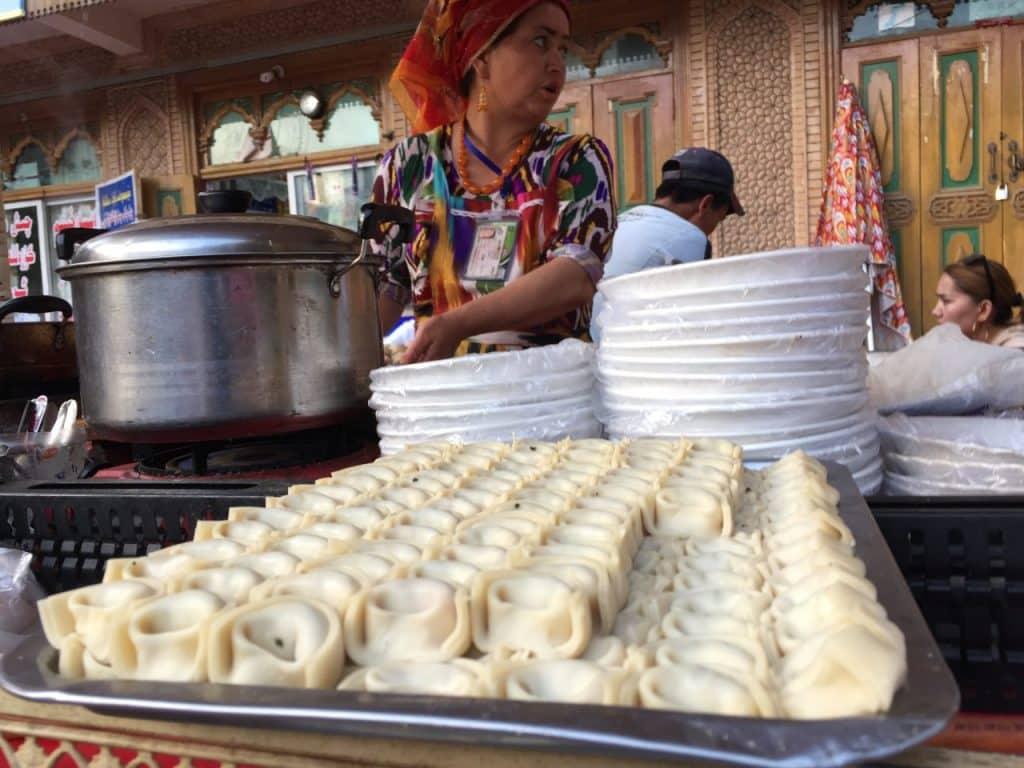 pasar malam Kashgar