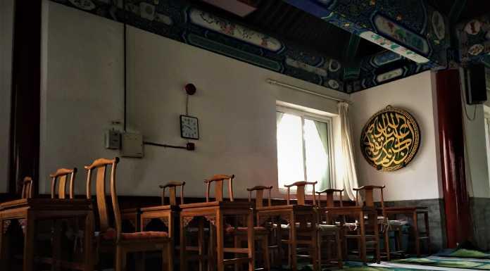 maharaja china masuk masjid
