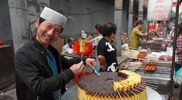 Stret Food China