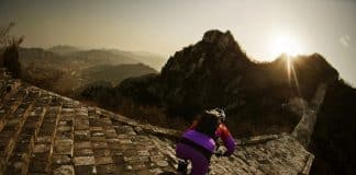 Cycling to great wall
