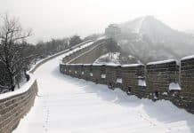 panduan tembok besar china